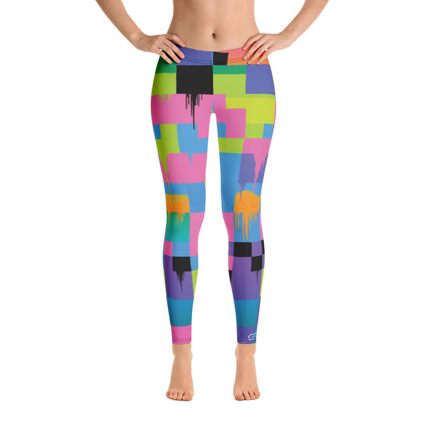 Color Glitch 2 Legging