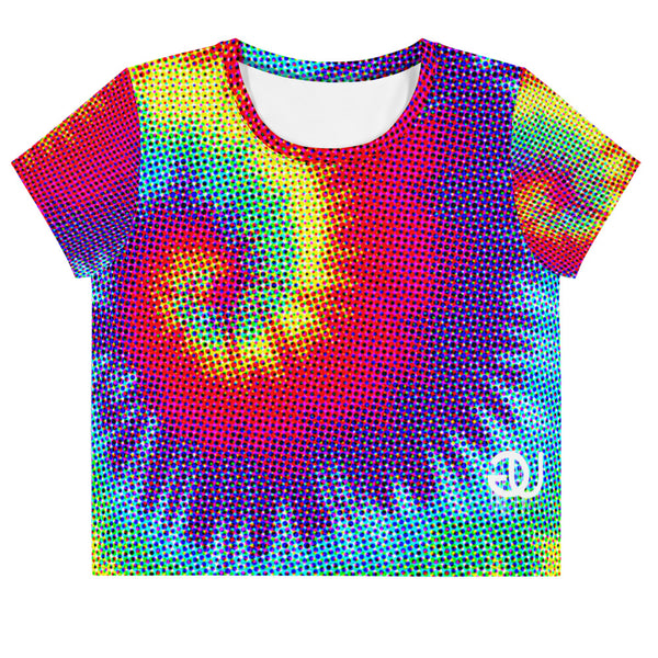Gradient Tie Dye Crop Top