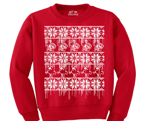 Get Up Holiday Sweater
