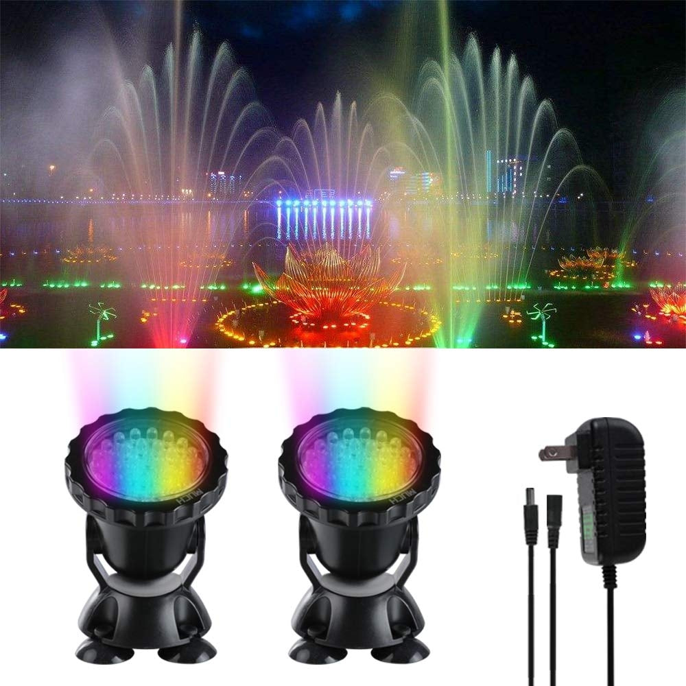 4PCS Aquarium Diving  Underwater Lights