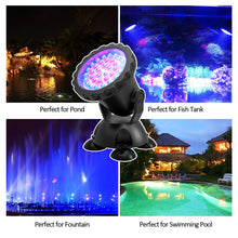 Load image into Gallery viewer, 4PCS Aquarium Diving  Underwater Lights