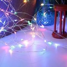 Load image into Gallery viewer, 50 LEDs 8 Modes colored String Lights