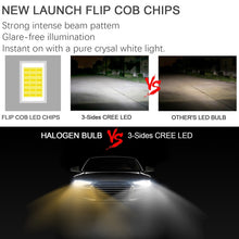 Load image into Gallery viewer, Sides CREE LED Hi-Lo Beam Headlight ConversionKit