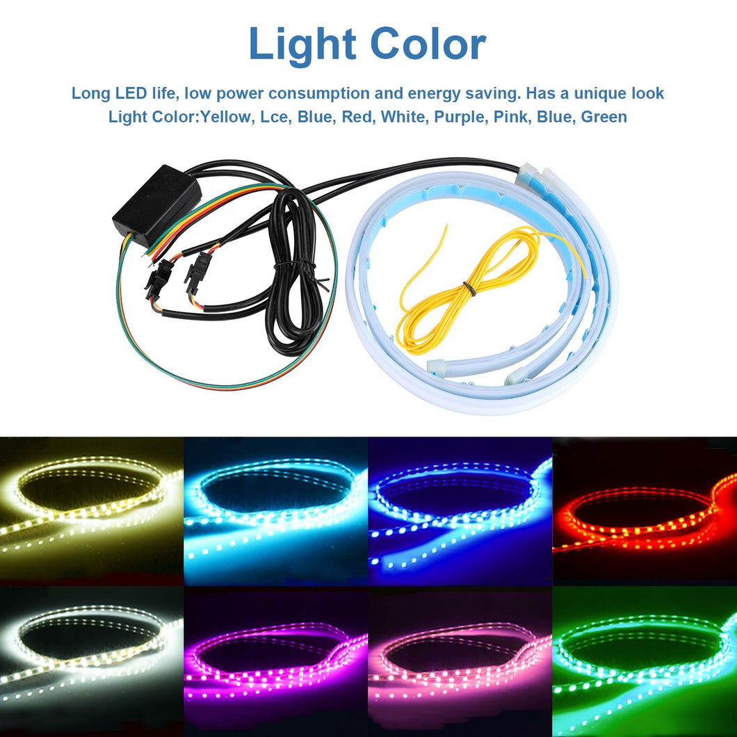 RGB Slim Sequential Flexible LED