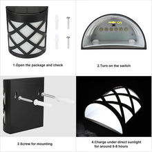 Load image into Gallery viewer, LED Solar Light Sensor Lamps