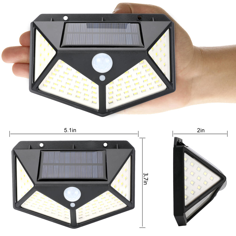 100LED Solar Powered Lights Outdoor