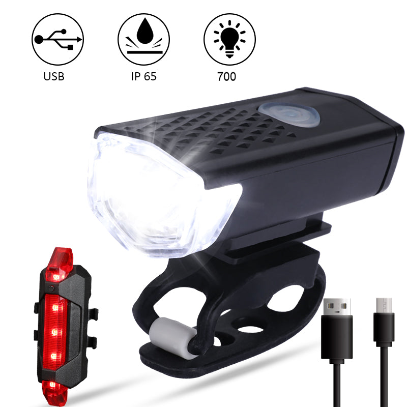 USB Rechargeable Super Bright LED Bicycle Headlight