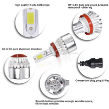 Load image into Gallery viewer, Wireless H11 H8 H9 LED Headlight Bulbs