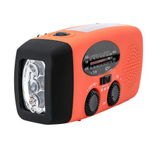 Load image into Gallery viewer, 3 LED Emergency Solar Led Radios