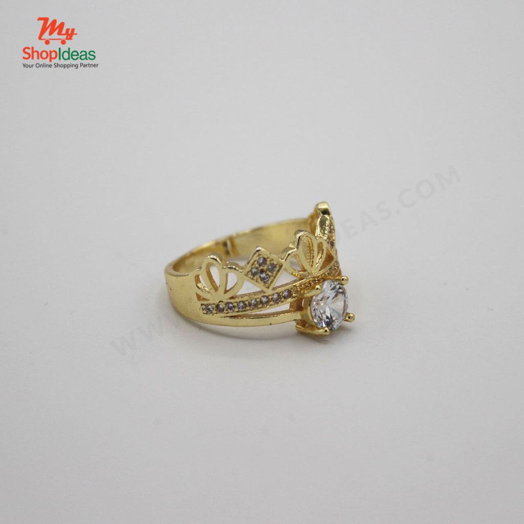 Gold rings for women girl jewelry gift