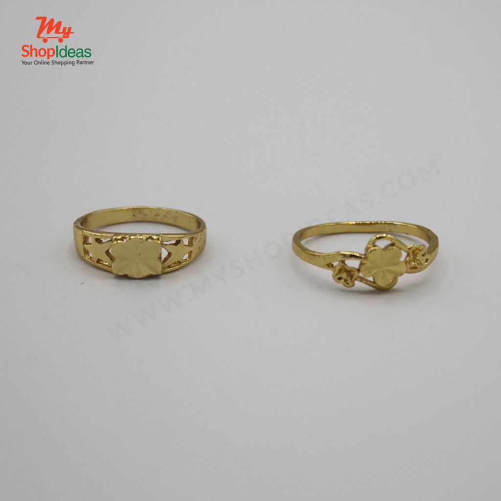 Golden New Fashion Rings For girls