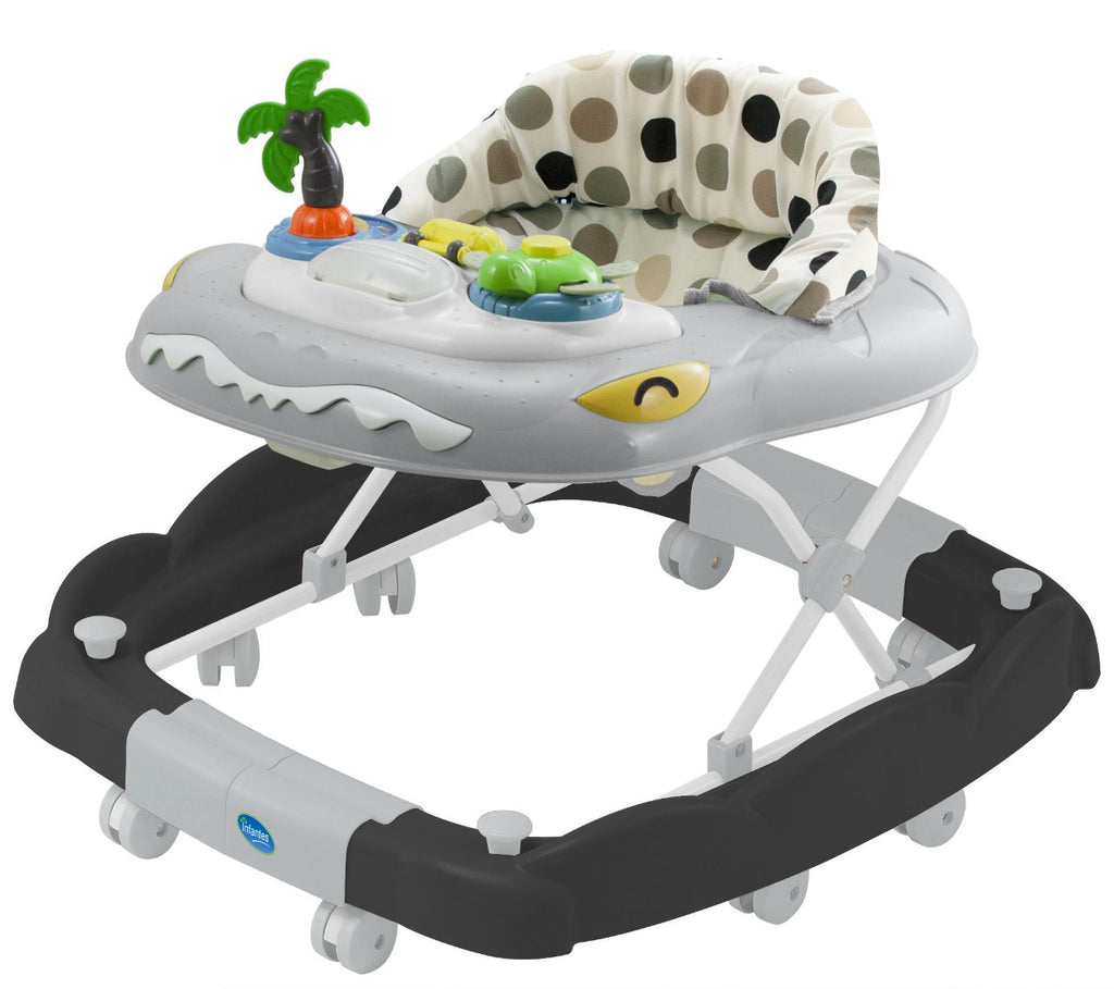 Infantes Baby Walker – Black And White Polka (0-12M)