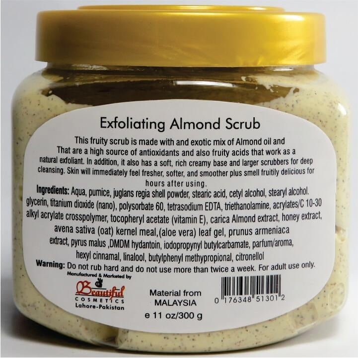 Almond Scrub - 300 Grams (White Glow)