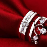 Crown Couple Rings