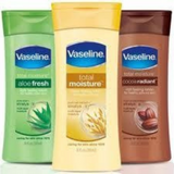 Vaseline Face And Body Lotion Best For Winters and Dry Skin 100ml Original-pack of 3