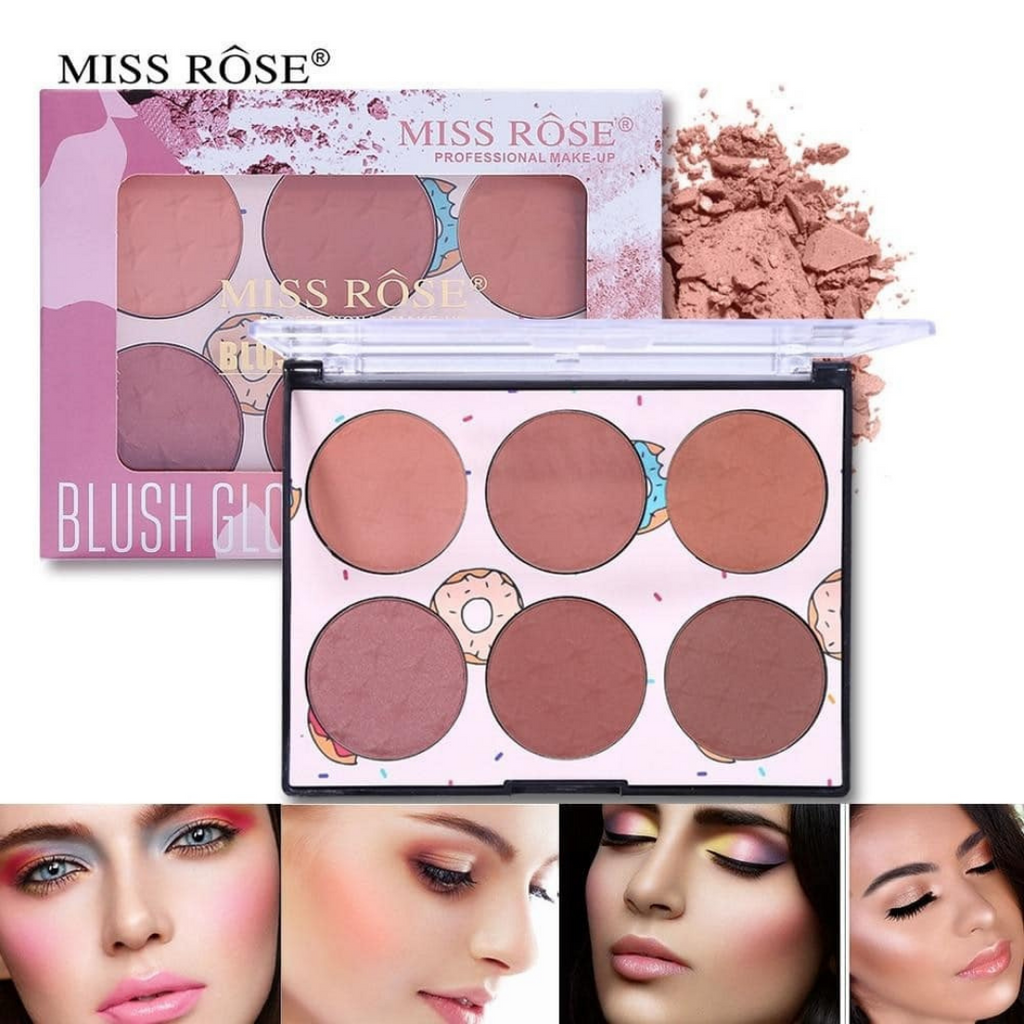 Miss Rose Blush Palette - 6 Colors
