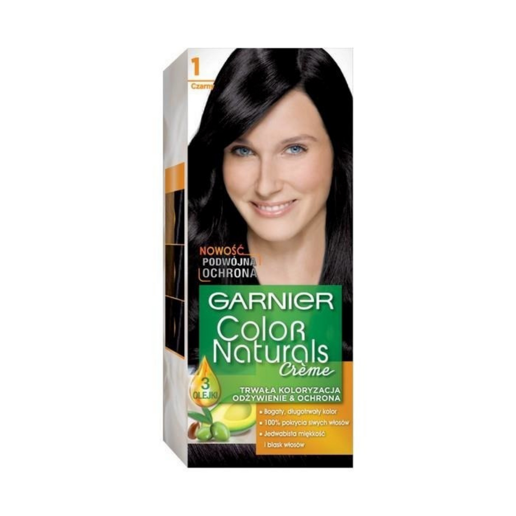 Garnier Color Naturals 1 Black Hair Color