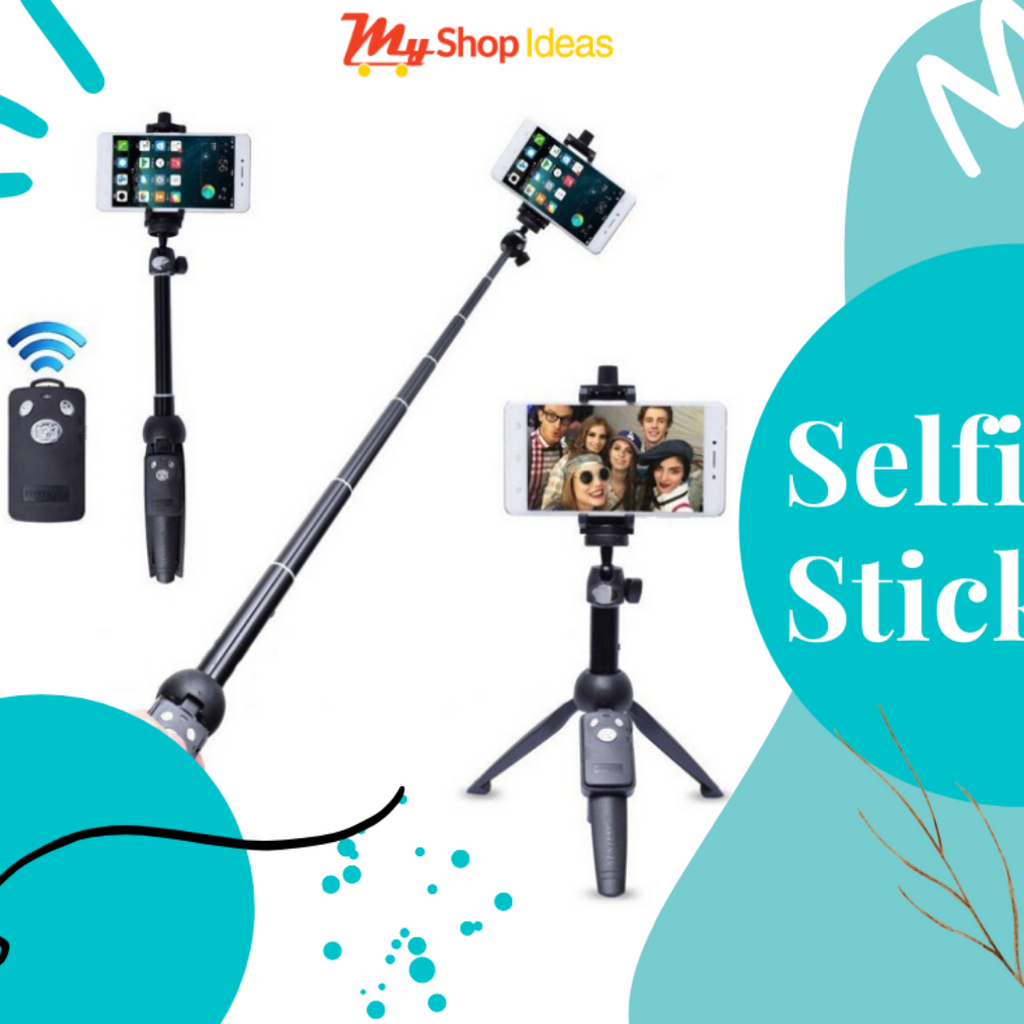 Yunteng Tripod Selfie Stick with Phone Holder + Controller