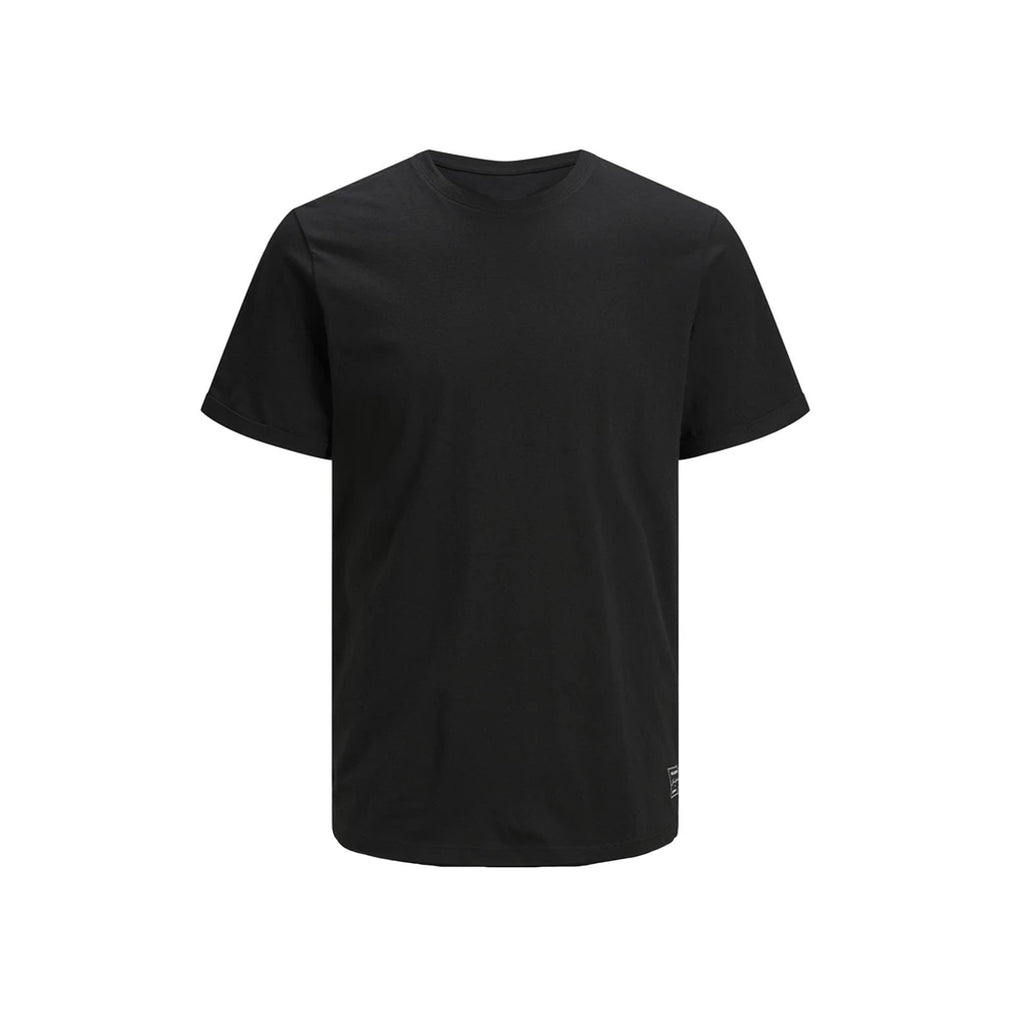 JJ - Men 'Black' Round Neck Cotton T-Shirt JJ273
