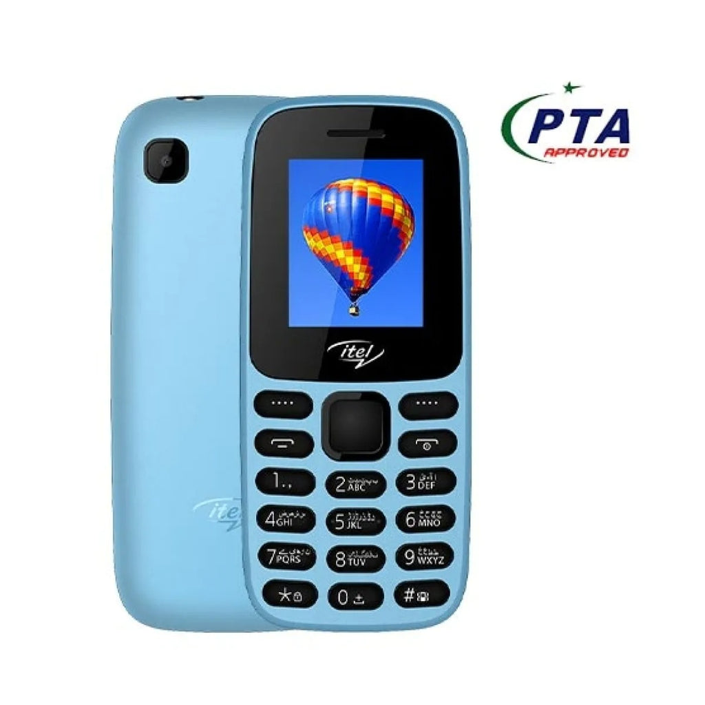 Itel Value 110 Dual Sim City Blue