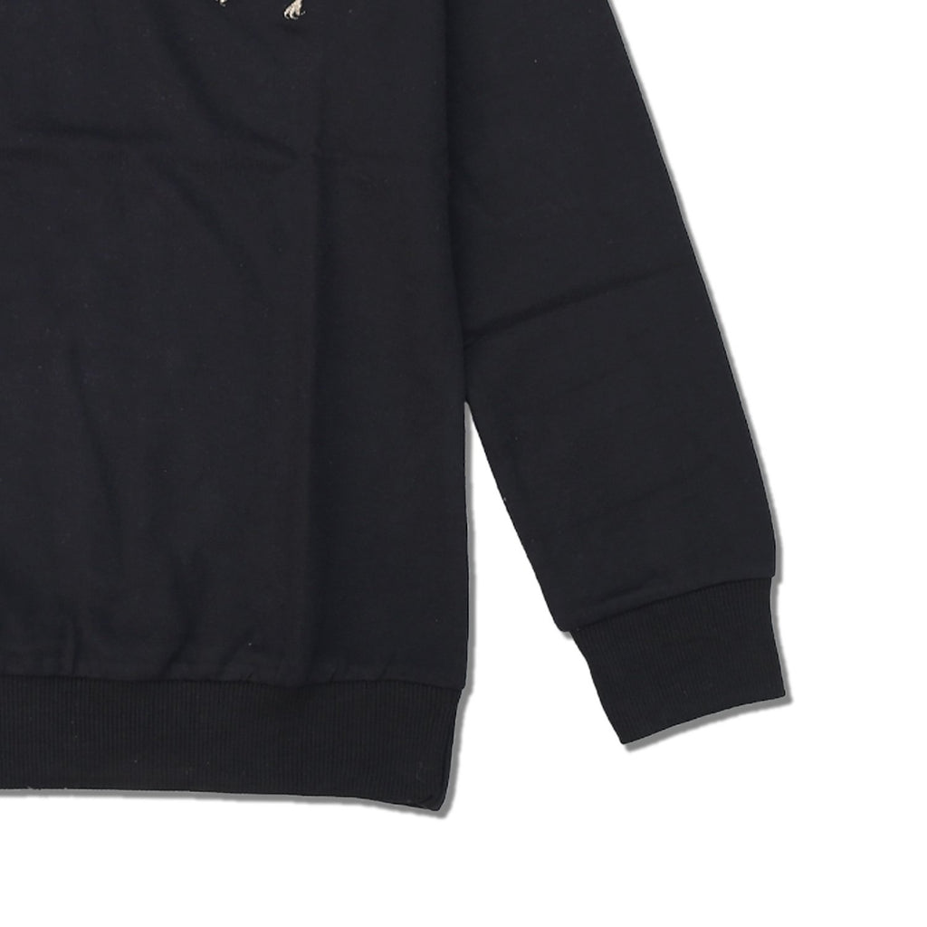 GR - Men 'Black' With Front Giordano Logo Terry Sweatshirt GR213