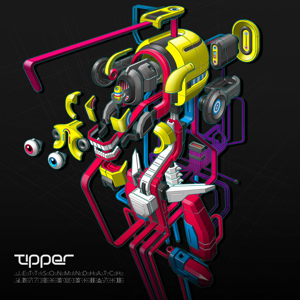 Tipper - Jettison Mind Hatch - 2x Vinyl LPs (PREORDER JUNE 11TH STREET DATE)