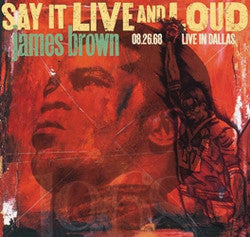 James Brown - Say It Live and Loud - 2x Vinyl LPs