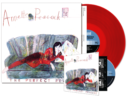 Annette Peacock - The Perfect Release - Red Color Vinyl LP PREORDER MAY 14TH STREET DATE
