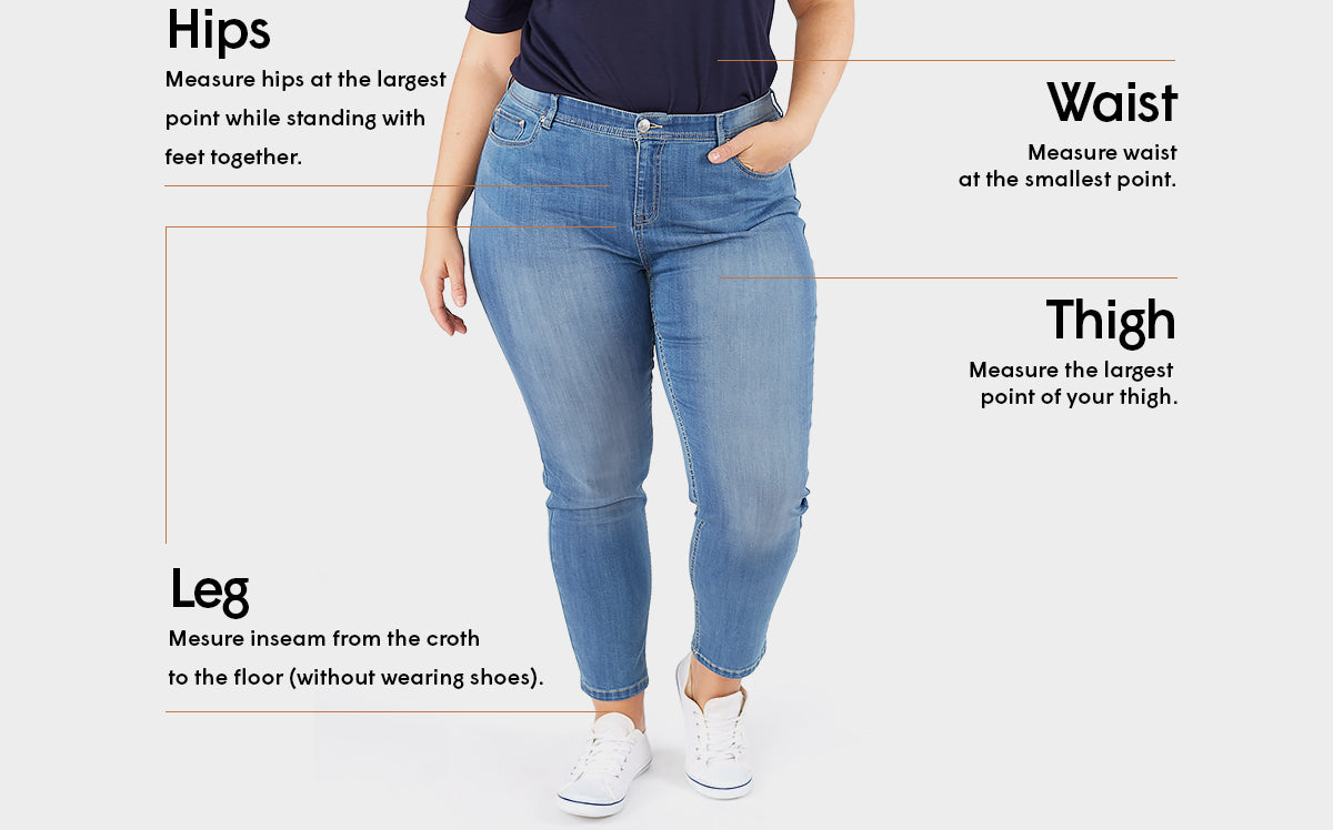 Sizing guide - Bottoms - Claire France