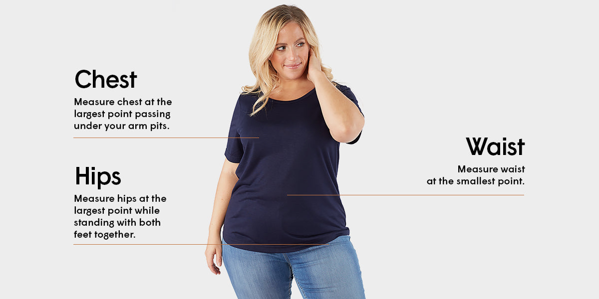 Sizing guide - Tops - Claire France