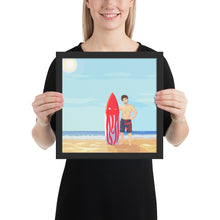 Load image into Gallery viewer, Square Framed poster