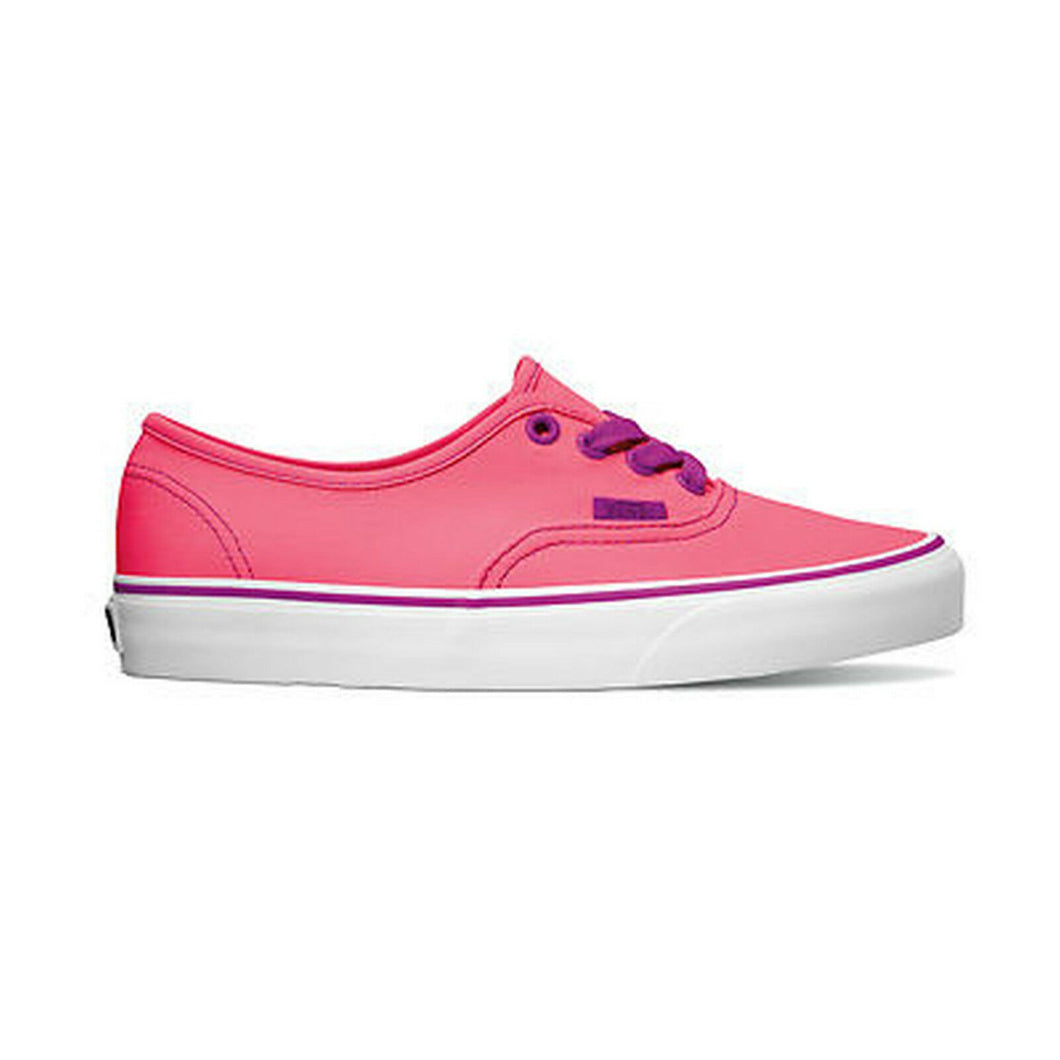 Vans Schuhe Skater Authentic Neon Pink Purple