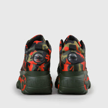 Lade das Bild in den Galerie-Viewer, Buffalo London Classic Boots Shoes Plateau 90er Camouflage Limitiert & Exklusiv