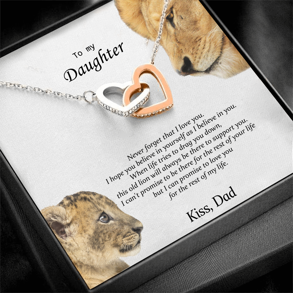 """To my daughter"" - Necklace gift from Dad"