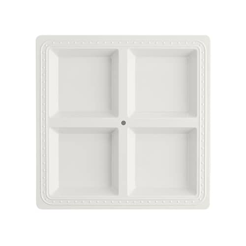 MEL01-Melamine Square Sectional Server