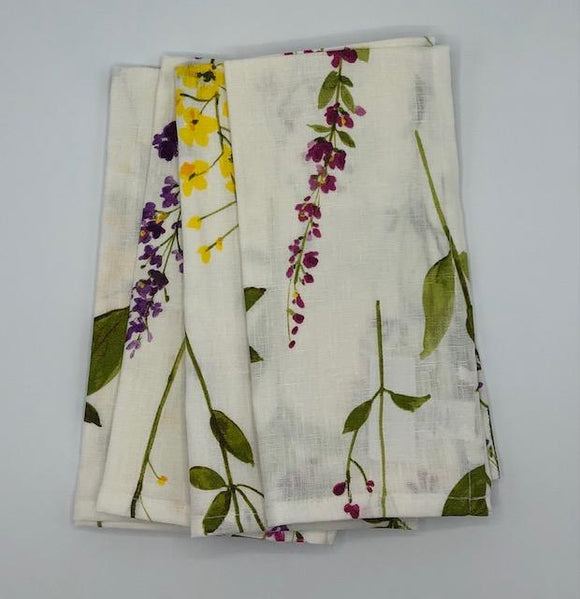 Floral Stems Dinner Napkin