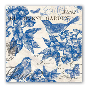 Indigo Cotton Luncheon Napkins