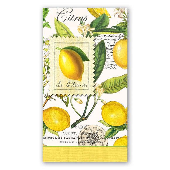 Lemon Basil Hostess Napkins