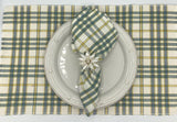 Simmons Plaid Placemat