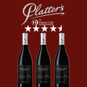 Awarded 4.5 STARS in PLATTER'S 2021