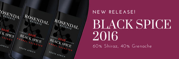 Latest Release: Reserve Black Spice 2016