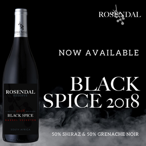 Back by popular demand!  Reserve Black Spice 2018