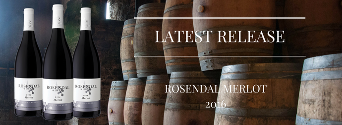 Rosendal Merlot 2016 has arrived!