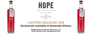 Limited Release Craft Gin exclusive to Rosendal!