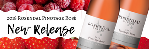 New release: Rosendal Pinotage Rosé 2018