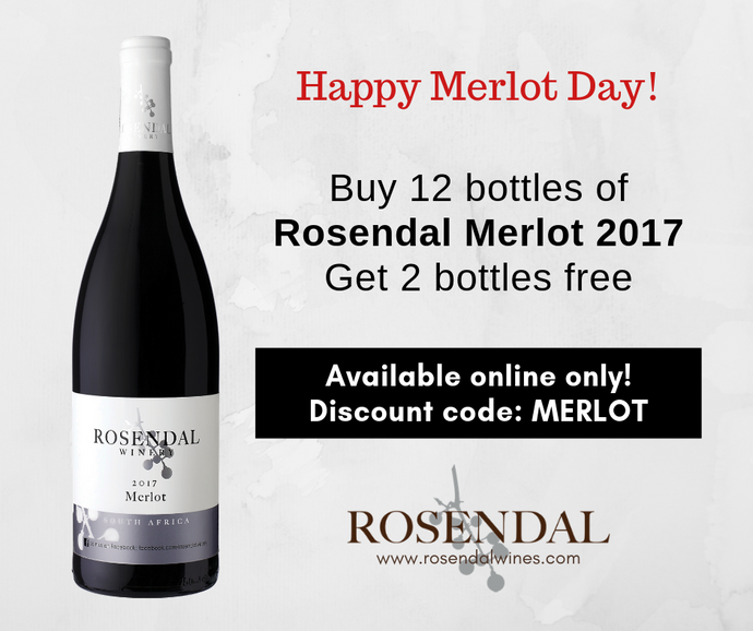 Special offer on Merlot Day!
