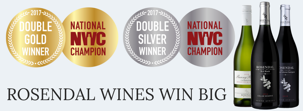 Rosendal Wines Win Double Gold and Silver