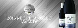 Our Rosendal Merlot 2014 receives an international silver award