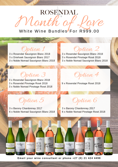 White wine bundles