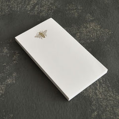 Letterpress Mini Notepad - Bee
